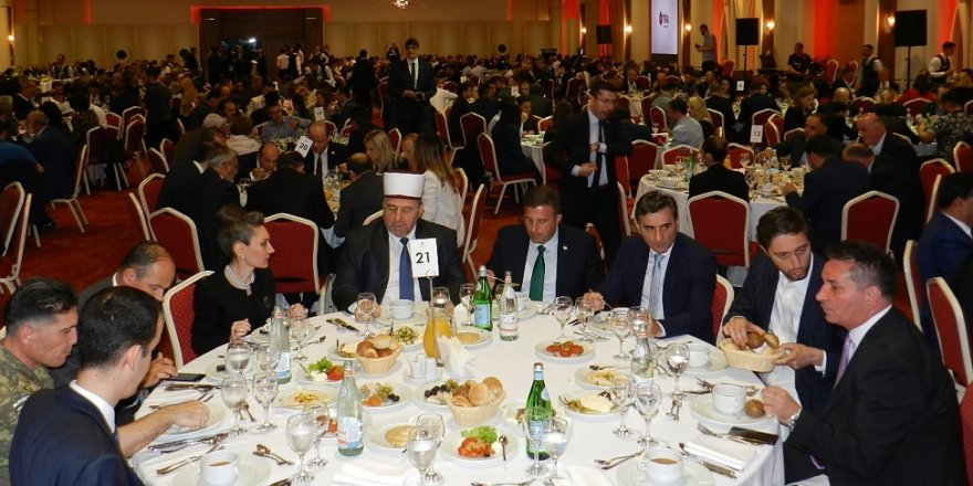 TİKA'dan görkemli iftar