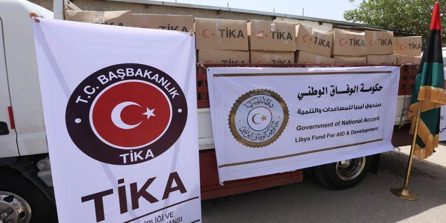 TİKA'dan Fizan'a gıda desteği
