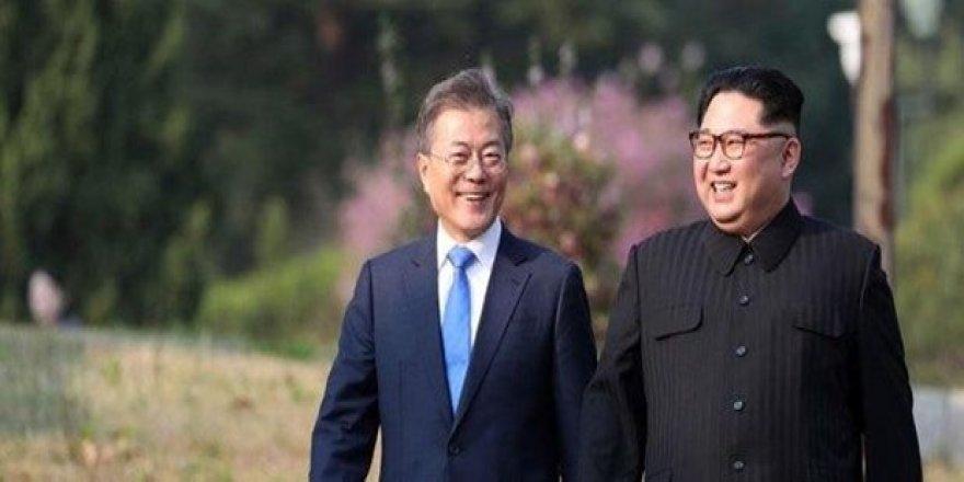 İki lider bir araya geldi