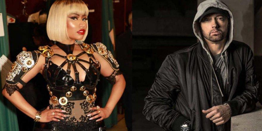 Nicki Minaj ve Eminem aşk yaşıyor