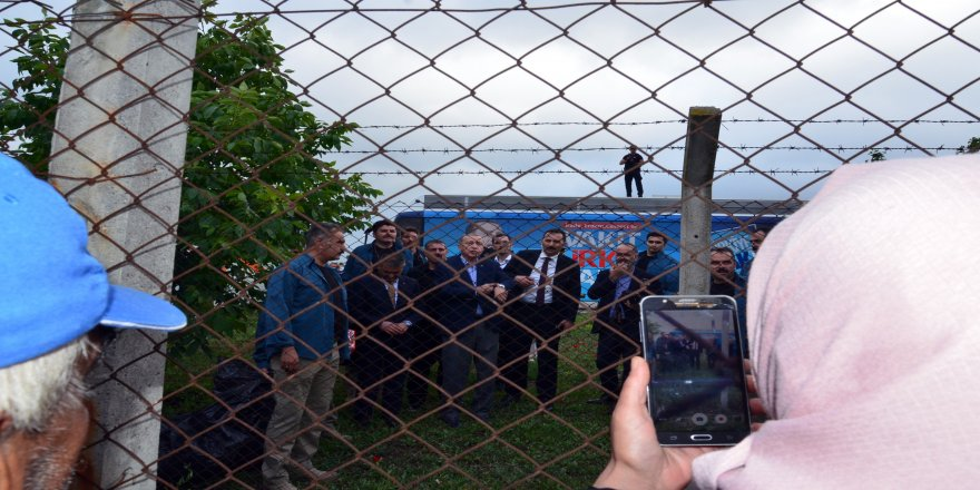 Cumhurbaşkanı'na Balıkesir'de sevgi seli