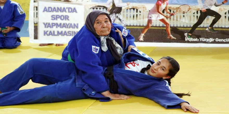 80'lik judocu Nine