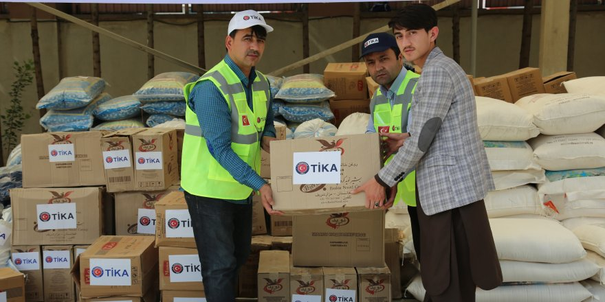 TİKA'dan Afganistan'a gıda yardımı