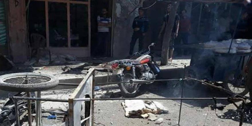 Bomba yüklü motosiklet patlatıldı: 4 ölü