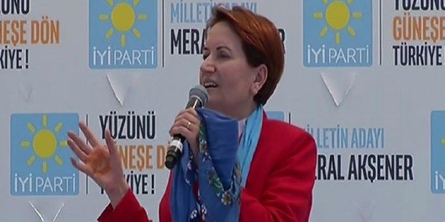 Meral Akşener: Vatandaşlık maaşı sinirlerini bozdu
