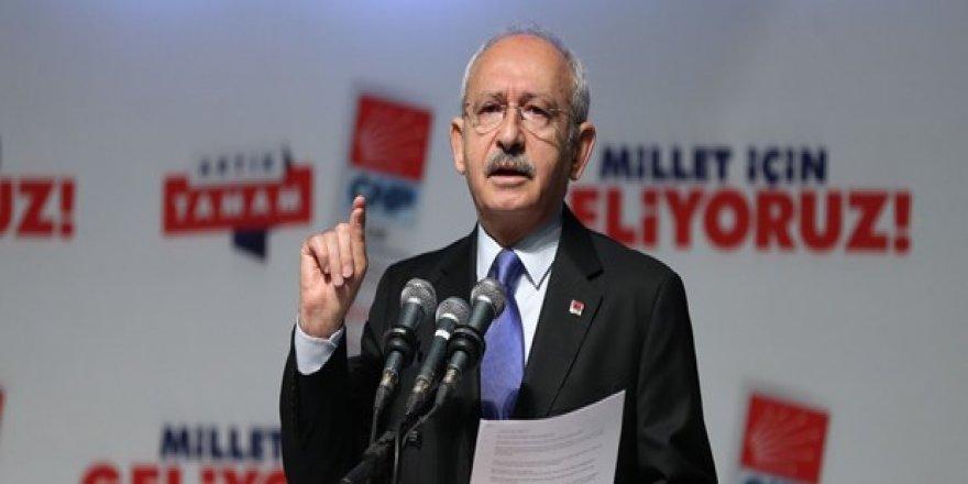 Kılıçdaroğlu: Yarış eşit şartlarda olmalı