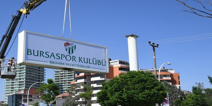 Bursaspor'un tesislerinin adı değiştirildi
