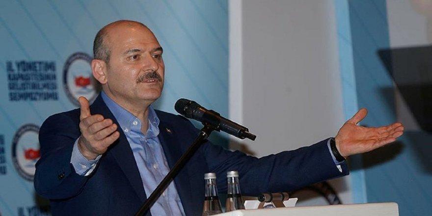 """İçişleri Bakanı Soylu'dan İnce'ye """"apolet"""" tepkisi"""