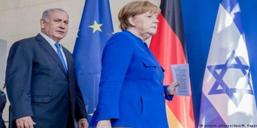 Merkel: Netenyahu ile aynı fikirde değilim!