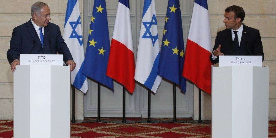 Macron: ABD'nin Kudüs'ü tanıması yanlıştı