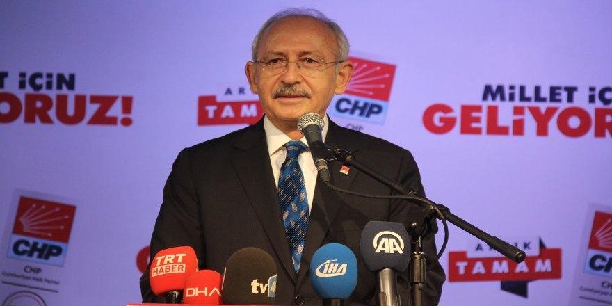 Kılıçdaroğlu, hakkında soruşturma başlatıldı