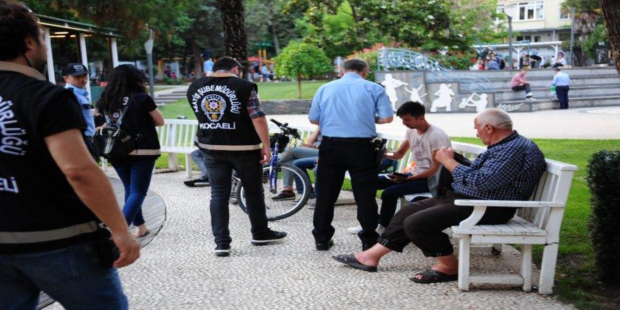 Kocaeli polisinden geniş çaplı uygulama: 13 gözaltı