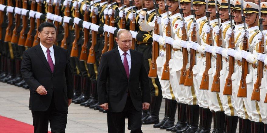 Putin, Çin'de