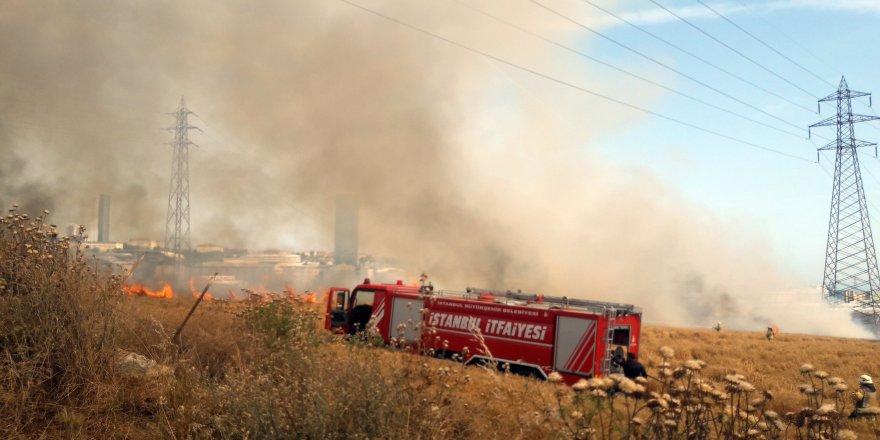 E-5 dumana boğuldu !