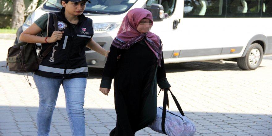 'ByLock'tan gözaltına alınan kadın adliyeye sevk edildi