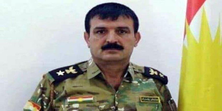 Erbil'de peşmerge subayı öldürüldü