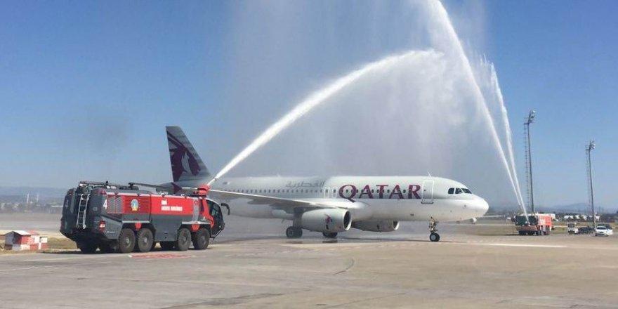 Katar'dan Antalya'ya direkt uçuşlar başladı