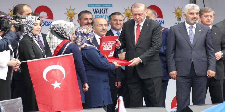 Erdoğan: Aday olmanın şartları olması lazım