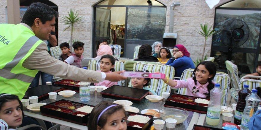 TİKA, Ramazan'da da Filistinlilerin yanında