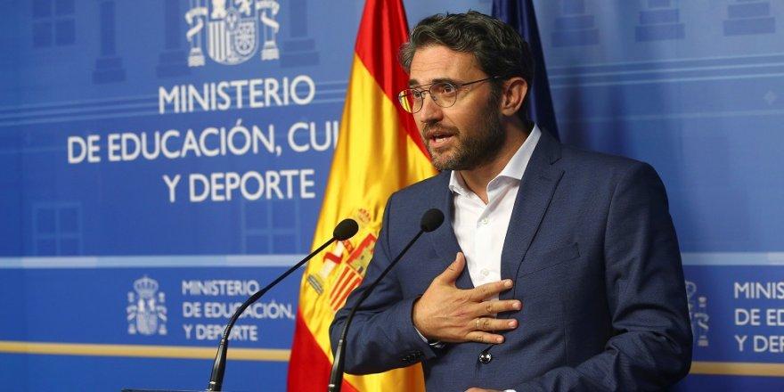 İspanya'da yeni bakan istifa etti