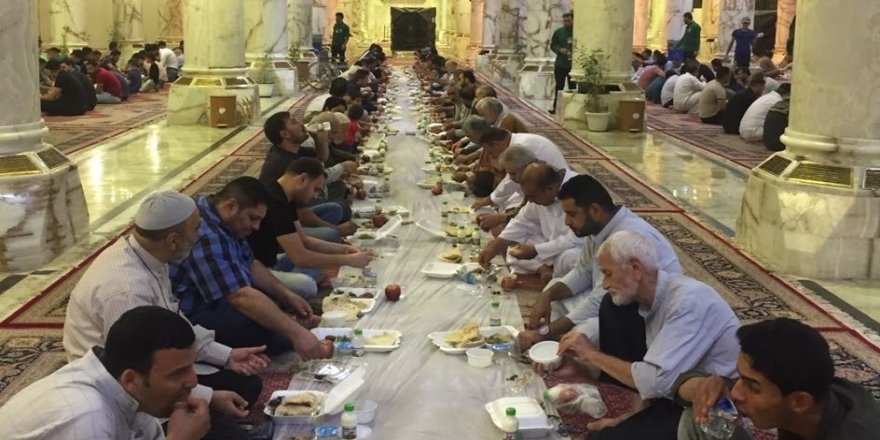 TİKA'dan Irak'ta 2 bin kişilik iftar