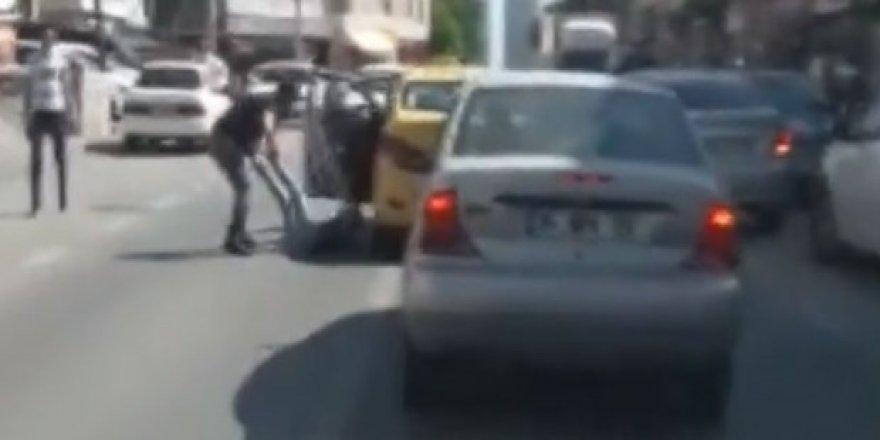 Tartıştığı kadını döven taksici için istenen ceza belli oldu