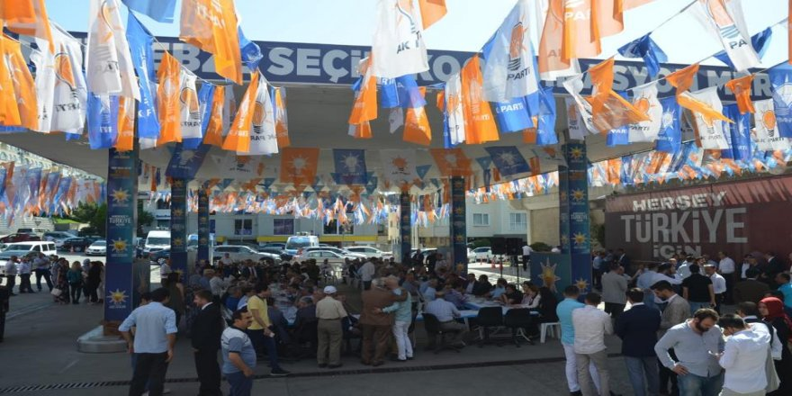 Işık, AK Parti Gebze ile bayramlaştı