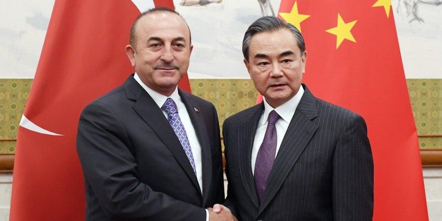 Bakan Çavuşoğlu, Çin'de