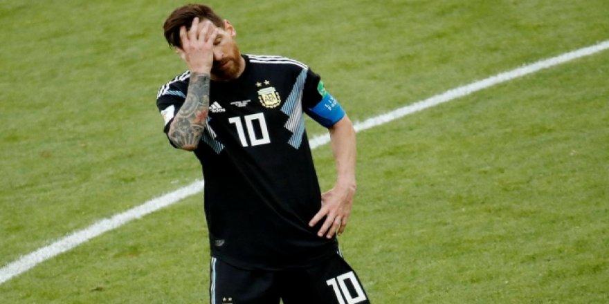 Messi'den acı itiraf!