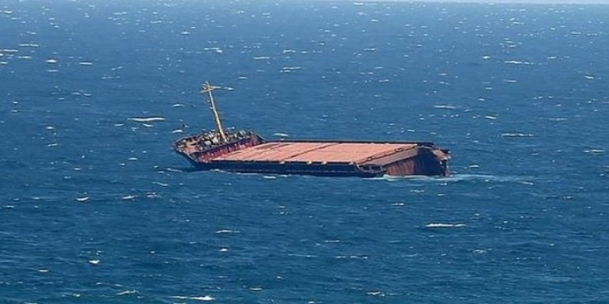 Hırvatistan'da Türk yük gemisi batıyor