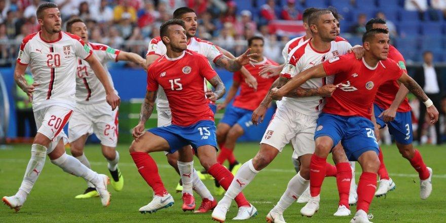 Sırbistan, Kosta Rika'yı 1-0 mağlup etti