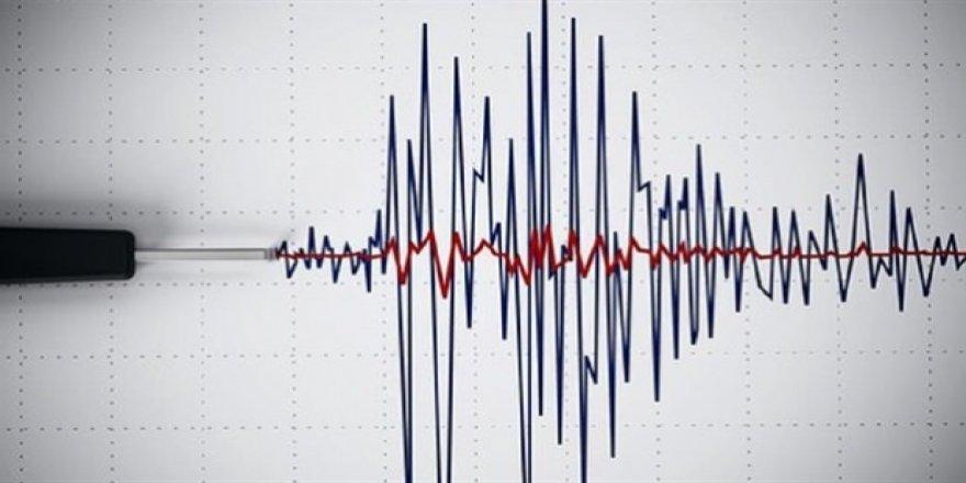 5.9 büyüklüğünde deprem!