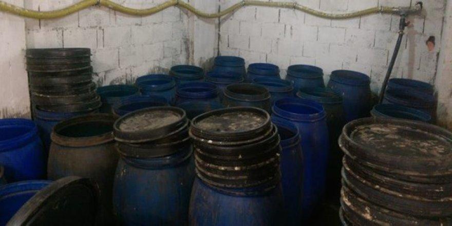 42.5 bin litre ele geçirildi