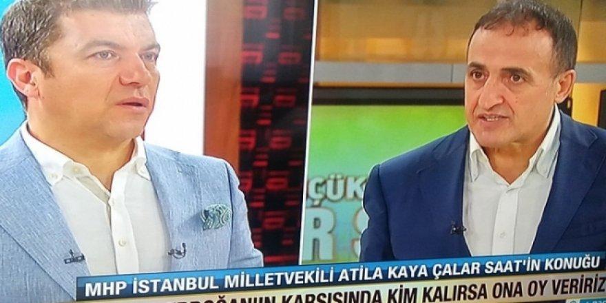 MHP'li vekil canlı yayında Erdoğan'a neden oy vermeyeceğini açıkladı