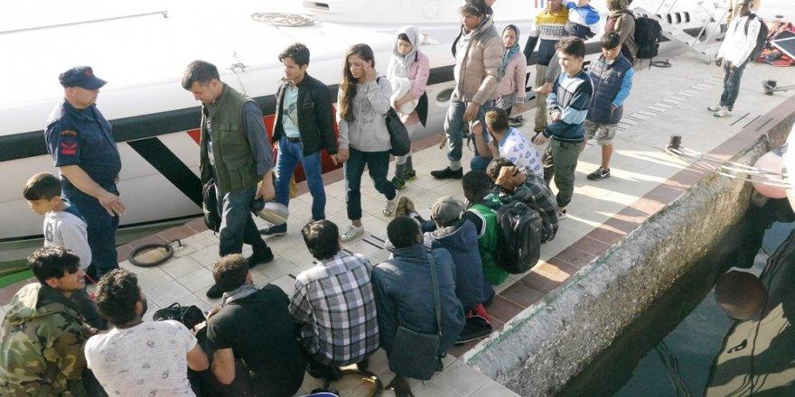45 mülteci yakalandı