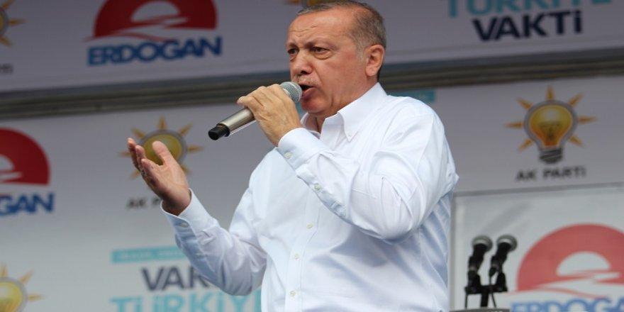 Erdoğan: Şu anda Münbiç'te operasyonlar başladı