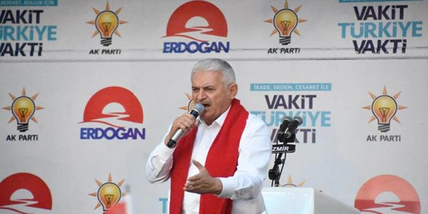 Başbakan, İzmir'de seçim maratonuna başladı