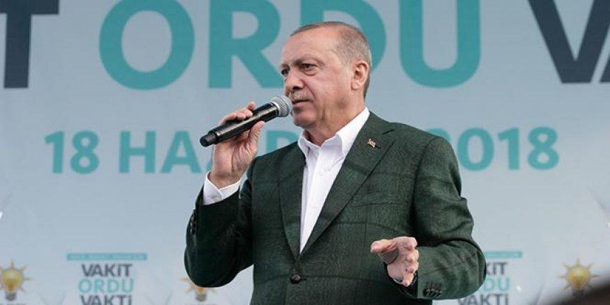 Erdoğan: Fındık üreticisini mağdur etmeyeceğiz
