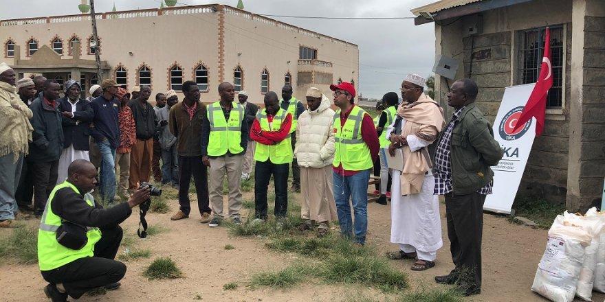 TİKA'dan Kenya'da sel mağdurlarına destek