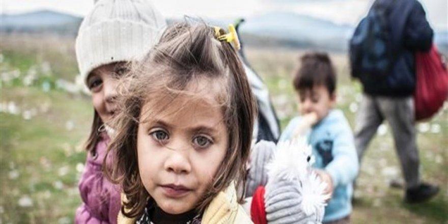 Sığınmacı çocuk sayısında rekor