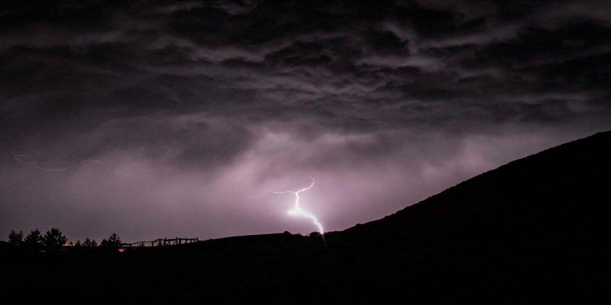 Meteoroloji'den için yıldırım uyarısı