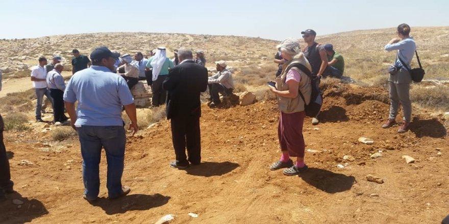 İsrailli yerleşimciler 20 dönümlük araziye el koydu