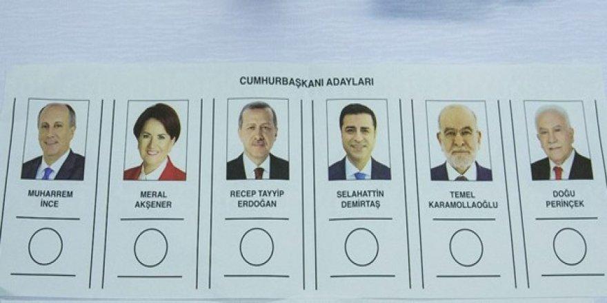 Önce cumhurbaşkanı seçimine ait oy pusulaları sayılacak