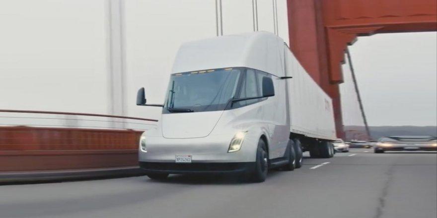 Tesla Semi, ilk defa yollarda