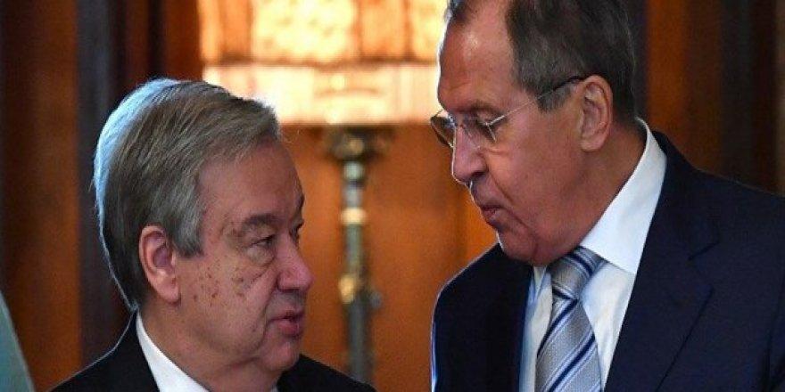 Lavrov'dan ABD'ye BM İnsan Hakları Konseyi uyarısı