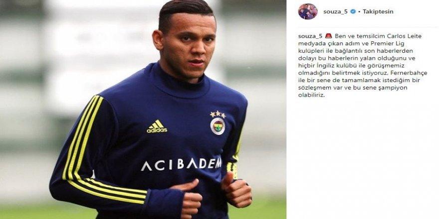 Fenerbahçe'de Josef de Souza kalmak istiyor
