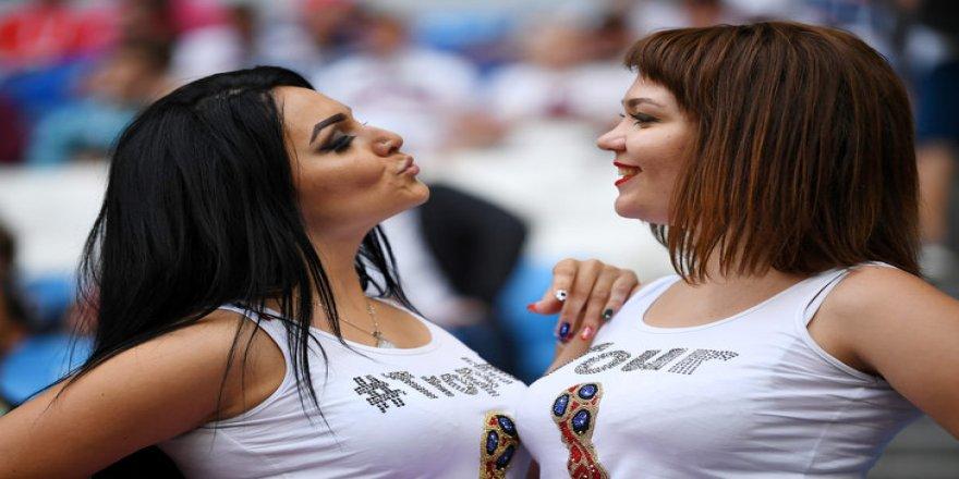 Dünya Kupası'ndan renkli görüntüler!