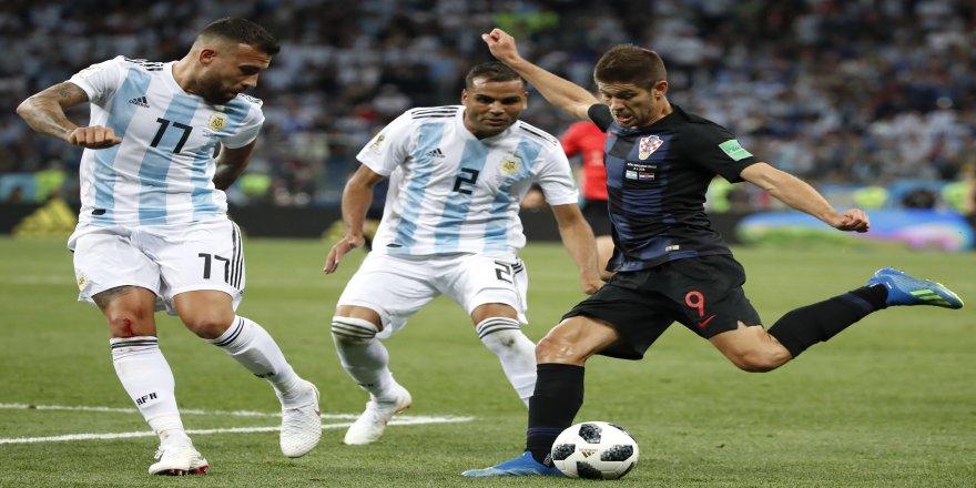 2018 FIFA Dünya Kupası: Arjantin: 0 - Hırvatistan: 3