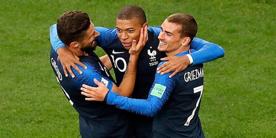 Fransa: 1 - Peru: 0