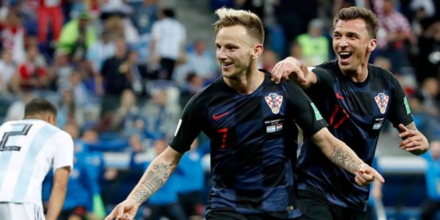 Hırvatistan, Arjantin'i dağıttı